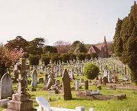View of Milton Road Cemetery