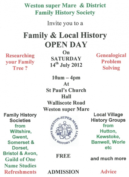Society Open Day 2012