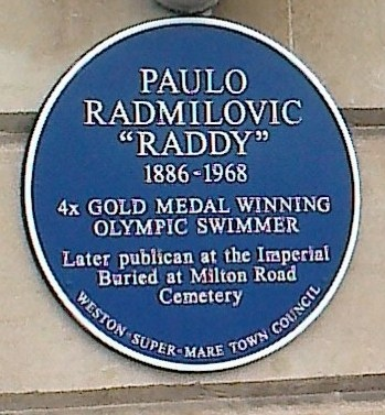 Radmilovic Blue Plaque