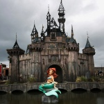 Dismaland mermaid