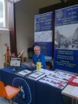 Graham Payne at Worle History Exhibition